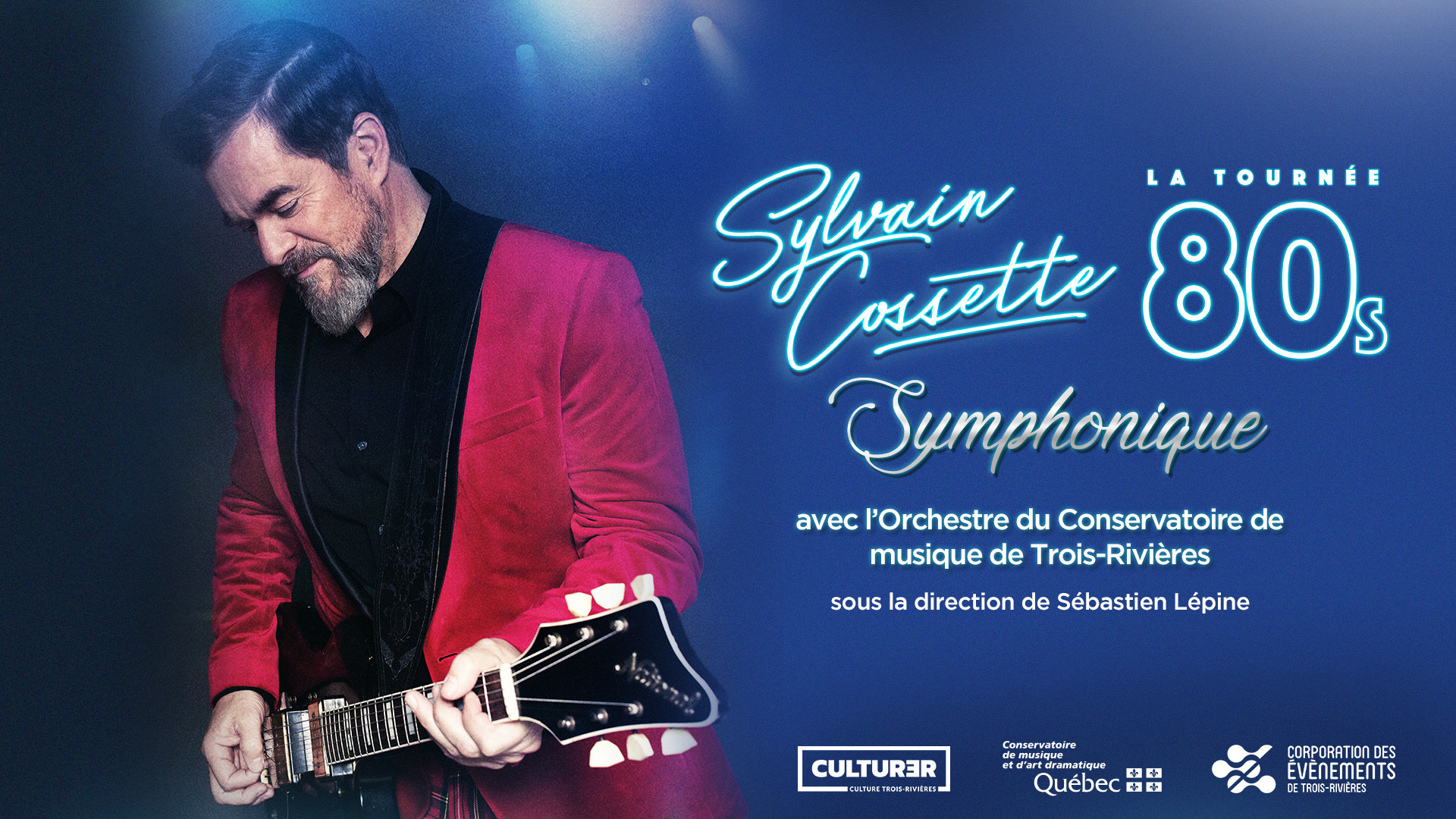 La tournée 80s de Sylvain Cossette en version symphonique