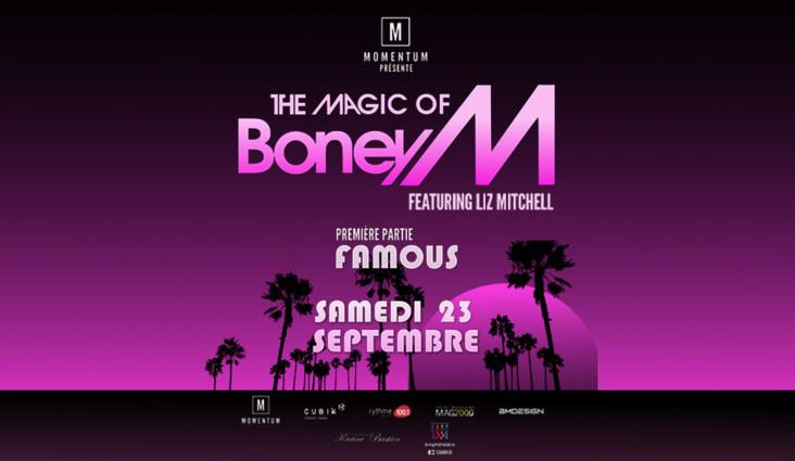 BONEY M. AT THE COGECO AMPHITHEATRE