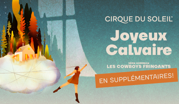 Additional shows for Joyeux Calvaire, Tribute to the Cowboys Fringants