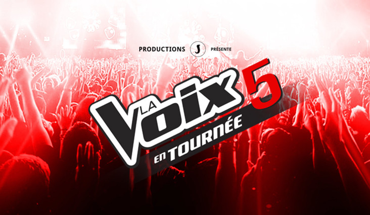 La Voix 5 on tour at the Cogeco Amphitheatre