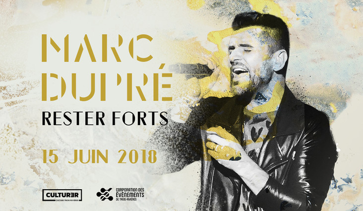 Marc Dupré at the Cogeco Amphitheatre this summer!