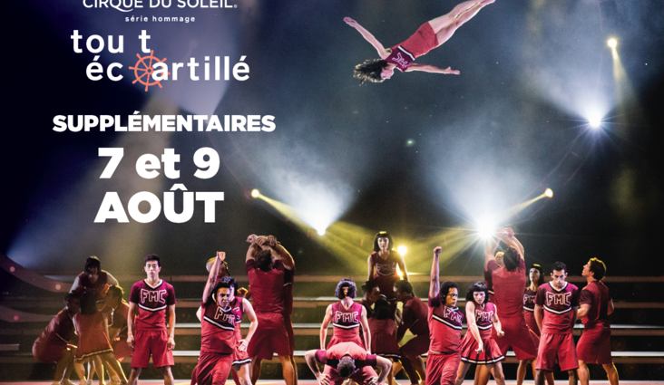 Two dates added to the Tout écartillé show : August 7 and 9, 2016!